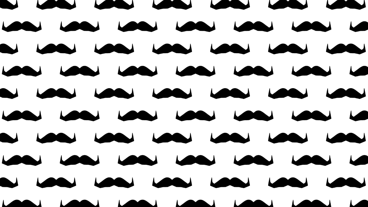 Movember 2020 Moustache Image