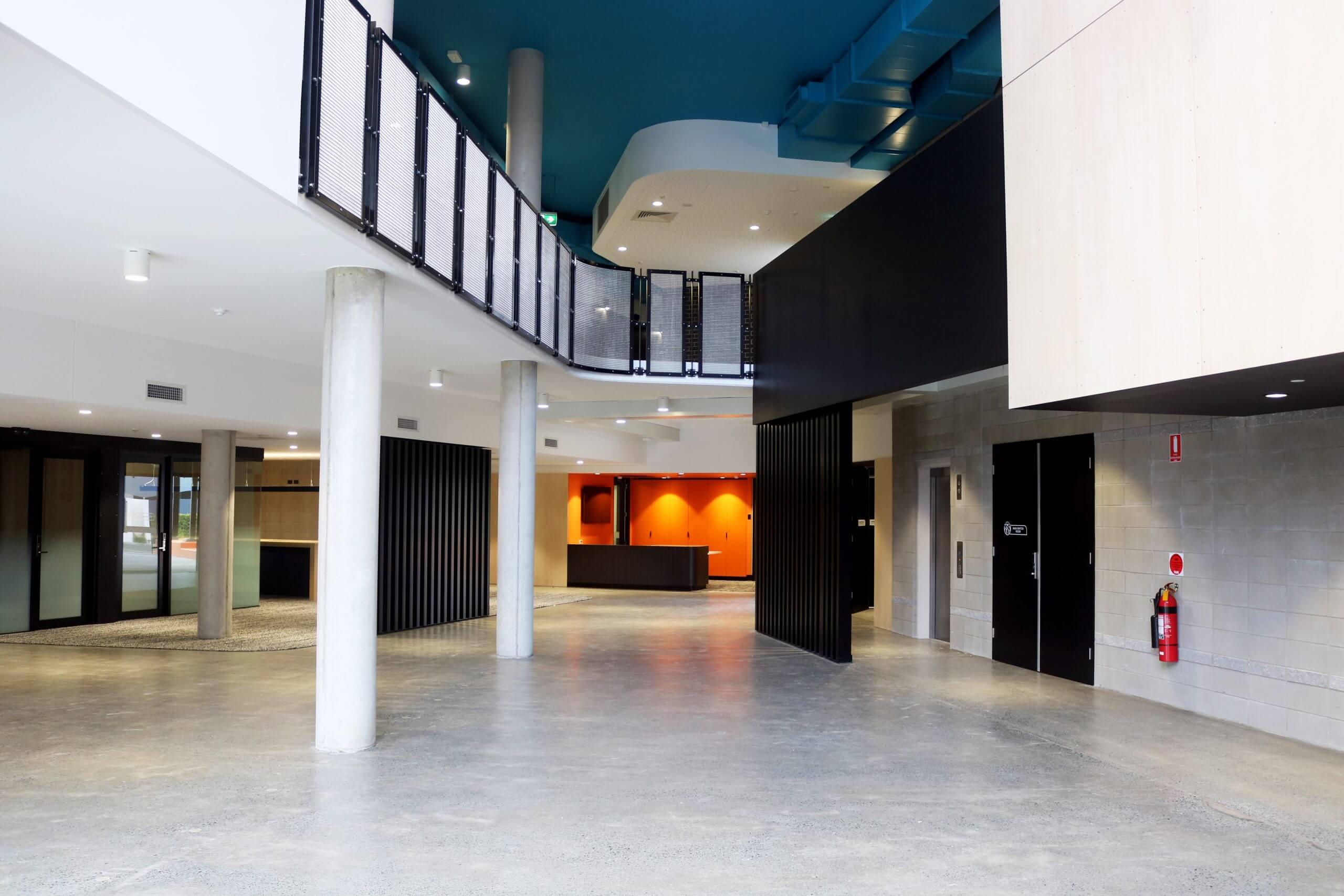 Arcadia College Interior Lighting