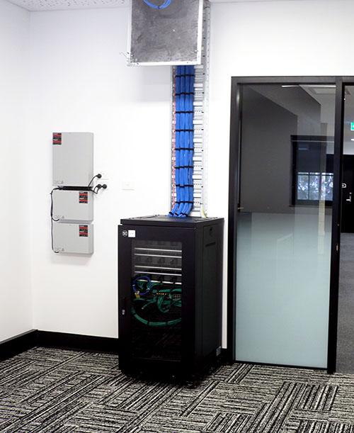 blue communications server