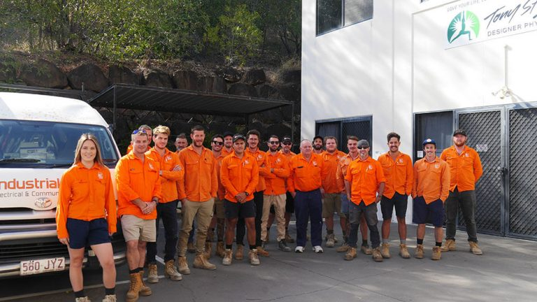 Industrial Electrics team