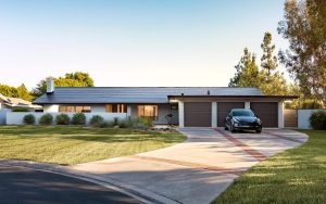 Tesla powered residential home