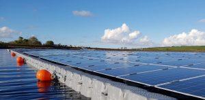 Floating Solar Panel Farm